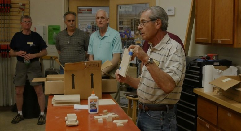 Gary Fader provides instructions for the toy build